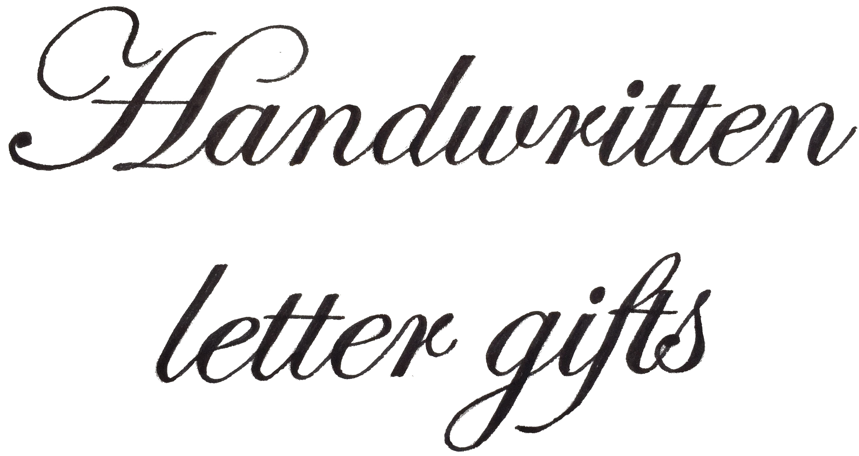 Hand Written Letter Gifts